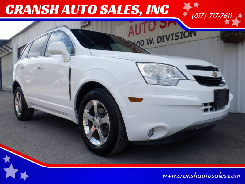2014 Chevrolet Captiva Sport for sale at CRANSH AUTO SALES, INC in Arlington TX