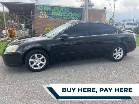 2006 Nissan Altima for sale at Galaxy Motors Inc in Melbourne FL