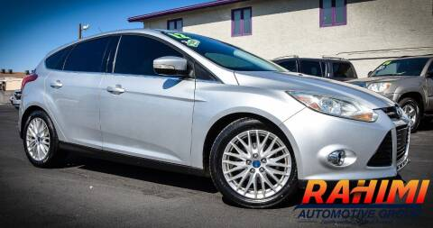 2012 Ford Focus for sale at Rahimi Automotive Group in Yuma AZ