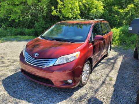 2011 Toyota Sienna for sale at Clare Auto Sales, Inc. in Clare MI