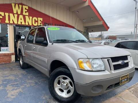 2003 Ford Explorer Sport Trac for sale at Caspian Auto Sales in Oklahoma City OK