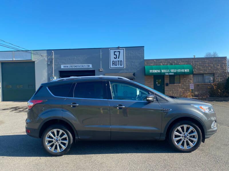 2017 Ford Escape for sale at 57 AUTO in Feeding Hills MA