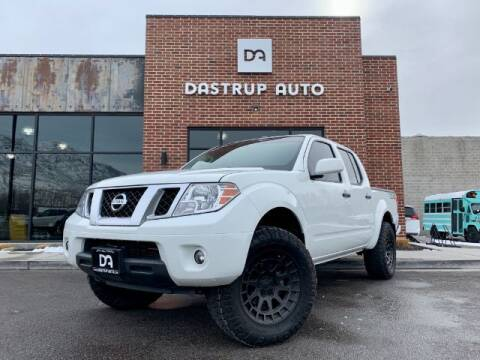 2019 Nissan Frontier for sale at Dastrup Auto in Lindon UT