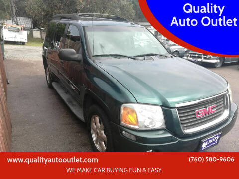 2005 GMC Envoy XL for sale at Quality Auto Outlet in Vista CA