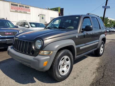 2005 Jeep Liberty for sale at MENNE AUTO SALES in Hasbrouck Heights NJ