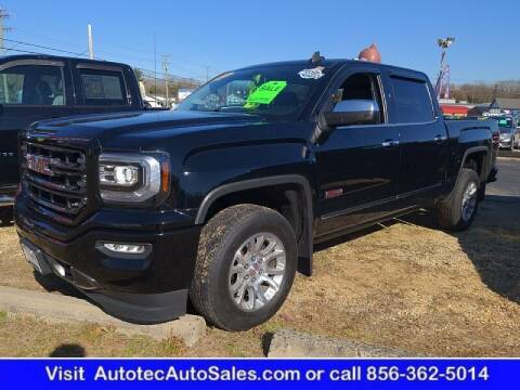 2016 GMC Sierra 1500 for sale at Autotec Auto Sales in Vineland NJ