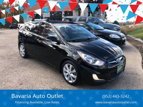 2013 Hyundai Accent for sale at Bavaria Auto Outlet in Victoria MN
