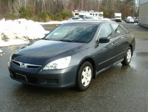 2006 Honda Accord for sale at Cars R Us Of Kingston in Kingston NH