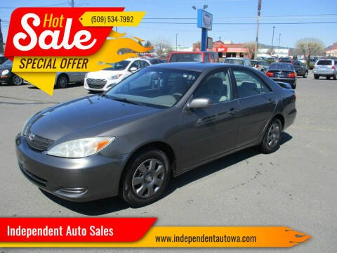 2003 Toyota Camry for sale at Independent Auto Sales in Spokane Valley WA