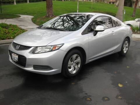2013 Honda Civic for sale at E MOTORCARS in Fullerton CA
