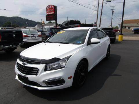 2016 Chevrolet Cruze Limited for sale at Joe's Preowned Autos 2 in Wellsburg WV
