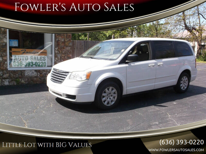 2009 Chrysler Town and Country for sale at Fowler's Auto Sales in Pacific MO