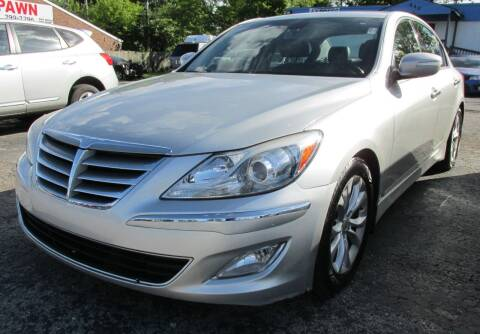 2013 Hyundai Genesis for sale at Express Auto Sales in Lexington KY
