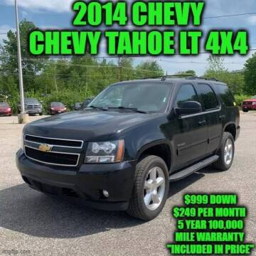 2014 Chevrolet Tahoe for sale at D&D Auto Sales, LLC in Rowley MA