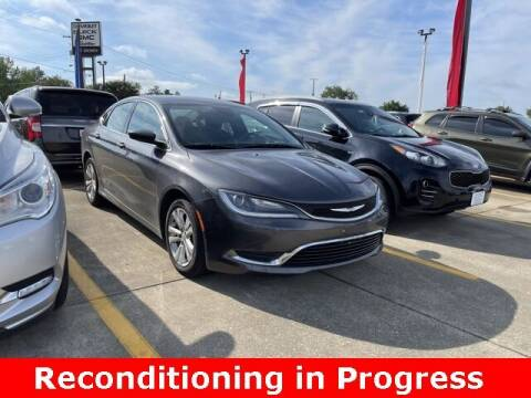 2015 Chrysler 200 for sale at Jeff Drennen GM Superstore in Zanesville OH