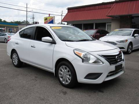 2016 Nissan Versa for sale at Discount Auto Sales in Pell City AL