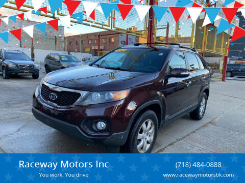 2011 Kia Sorento for sale at Raceway Motors Inc in Brooklyn NY
