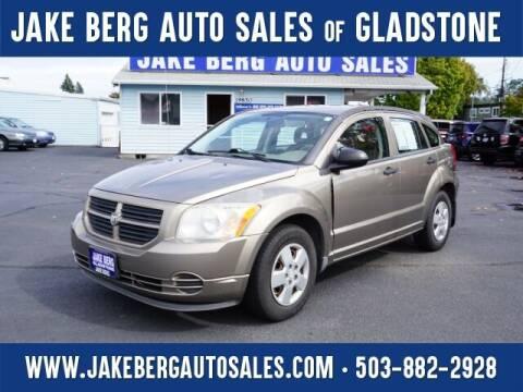 2007 Dodge Caliber for sale at Jake Berg Auto Sales in Gladstone OR