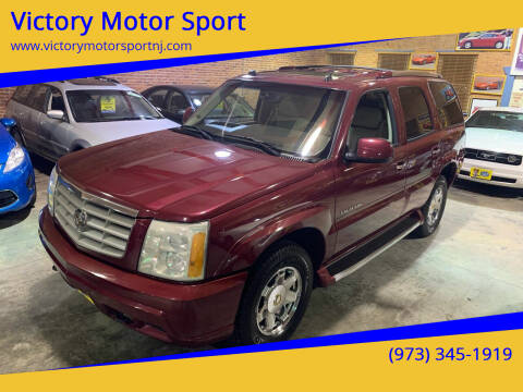 2004 Cadillac Escalade for sale at Victory Motor Sport in Paterson NJ
