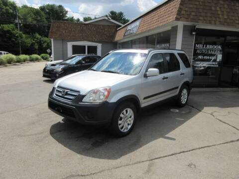 2005 Honda CR-V for sale at Millbrook Auto Sales in Duxbury MA