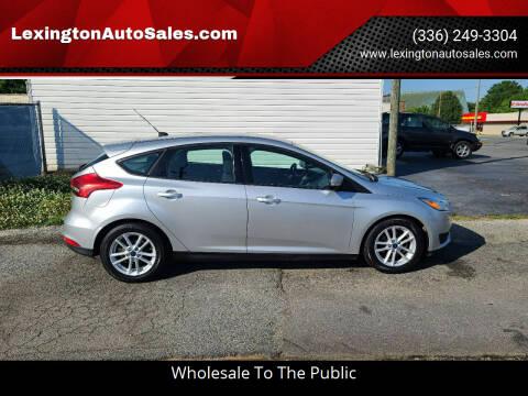2017 Ford Focus for sale at LexingtonAutoSales.com in Lexington NC