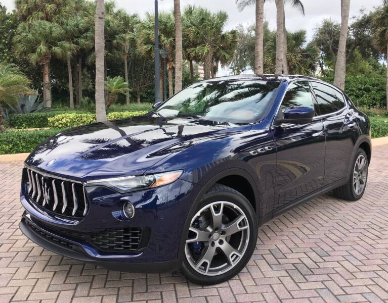 2018 Maserati Levante for sale at FIRST FLORIDA MOTOR SPORTS in Pompano Beach FL