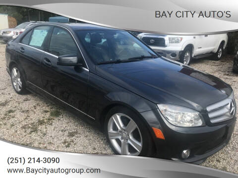 2010 Mercedes-Benz C-Class for sale at Bay City Auto's in Mobile AL