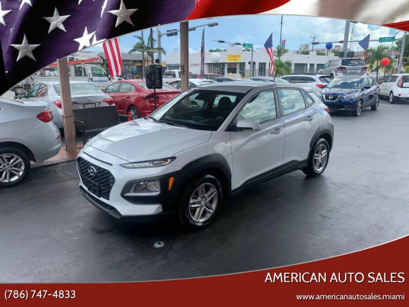 2019 Hyundai Kona for sale at American Auto Sales in Hialeah FL