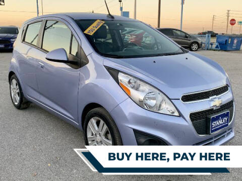 2014 Chevrolet Spark for sale at Stanley Automotive Finance Enterprise - STANLEY DIRECT AUTO in Mesquite TX