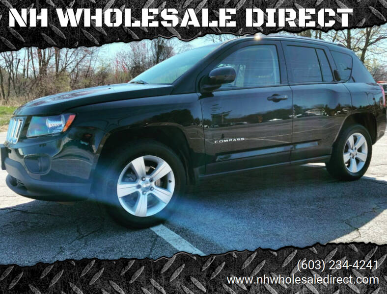 2015 Jeep Compass for sale at NH WHOLESALE DIRECT in Derry NH