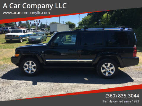 2006 Jeep Commander for sale at A Car Company LLC in Washougal WA
