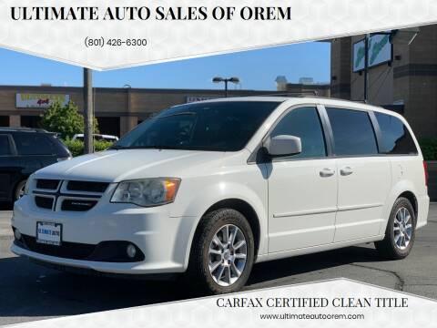 2013 Dodge Grand Caravan for sale at Ultimate Auto Sales Of Orem in Orem UT