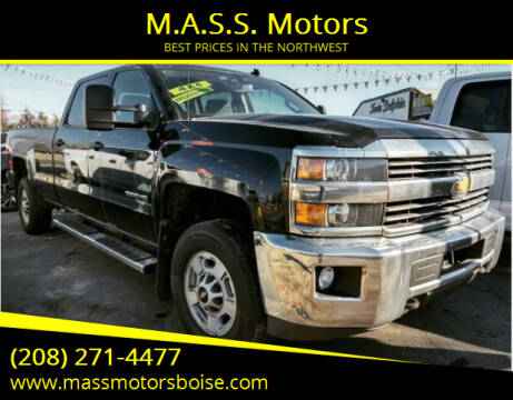 2015 Chevrolet Silverado 2500HD for sale at M.A.S.S. Motors in Boise ID