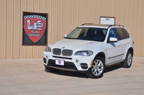 2013 BMW X5 for sale at V12 Auto Group in Lubbock TX