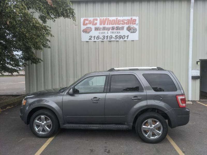 2010 Ford Escape for sale at C & C Wholesale in Cleveland OH