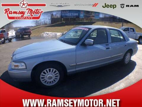 2008 Mercury Grand Marquis for sale at RAMSEY MOTOR CO in Harrison AR