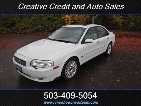 2004 Volvo S80 for sale at Creative Credit & Auto Sales in Salem OR