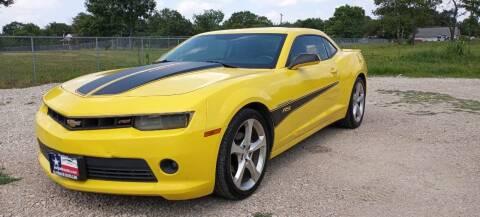 2014 Chevrolet Camaro for sale at LA PULGA DE AUTOS in Dallas TX