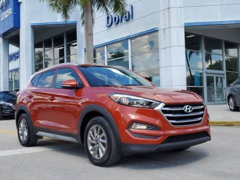 2017 Hyundai Tucson for sale at DORAL HYUNDAI in Doral FL