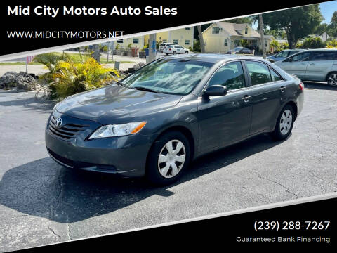2007 Toyota Camry for sale at Mid City Motors Auto Sales in Fort Myers FL