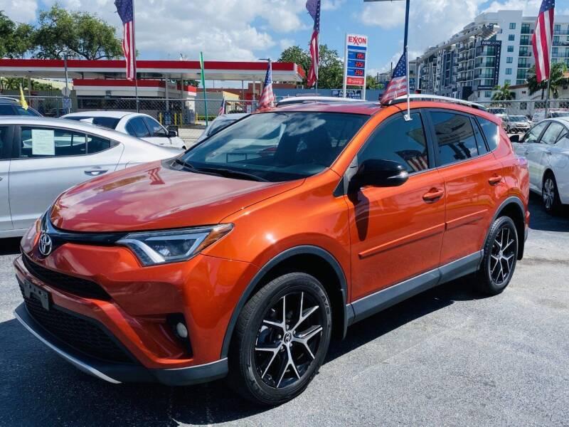 2016 Toyota RAV4 for sale at CHASE MOTOR in Miami FL