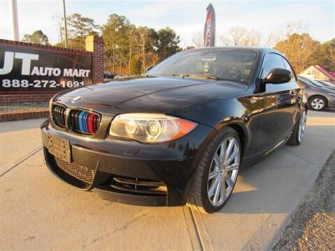 2012 BMW 1 Series for sale at J T Auto Group in Sanford NC