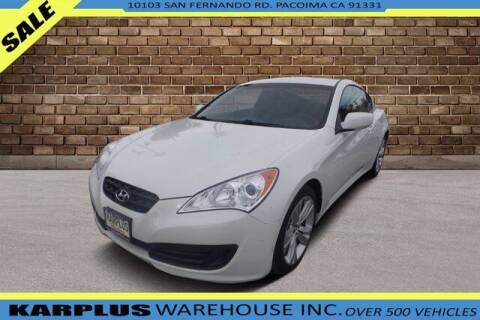 2011 Hyundai Genesis Coupe for sale at Karplus Warehouse in Pacoima CA