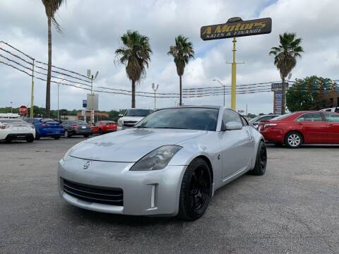 2006 Nissan 350Z for sale at A MOTORS SALES AND FINANCE in San Antonio TX
