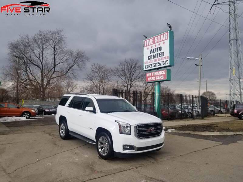2015 GMC Yukon for sale at Five Star Auto Center in Detroit MI