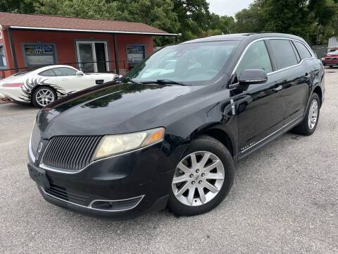2013 Lincoln MKT Town Car for sale at CHECK  AUTO INC. in Tampa FL