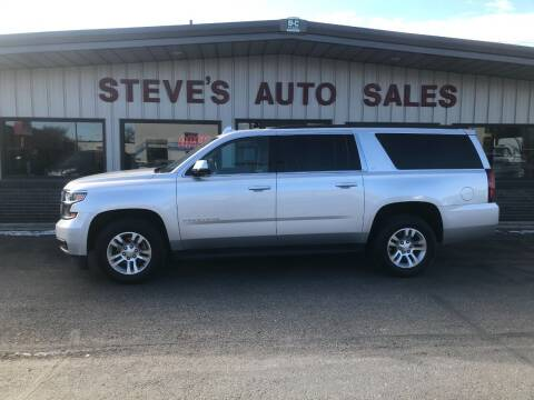 2019 Chevrolet Suburban for sale at STEVE'S AUTO SALES INC in Scottsbluff NE