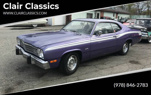 1973 Plymouth Duster for sale at Clair Classics in Westford MA