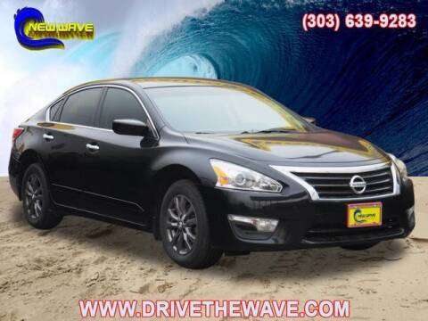 2015 Nissan Altima for sale at New Wave Auto Brokers & Sales in Denver CO