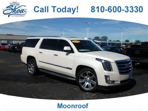 2015 Cadillac Escalade ESV for sale at Erick's Used Car Factory in Flint MI